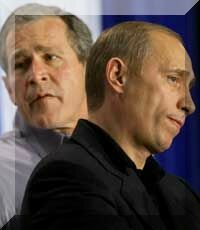 Putin Bush. Stage of the Putin Biography